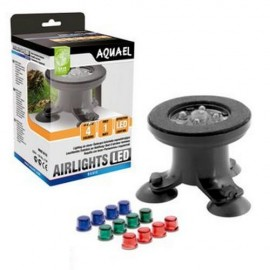 Aireador con Luz Led 4 colores Aquael Airlights