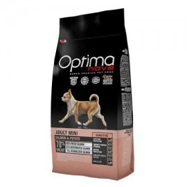 Optima Nova Adult Mini Sensitive Grain Free con salmón y patatas